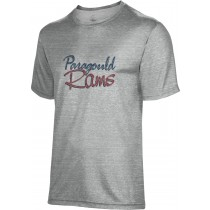 Spectrum Sublimation Unisex Paragould Rams Poly Cotton Tee