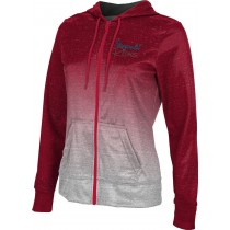 ProSphere Women's Paragould Rams Ombre Fullzip Hoodie